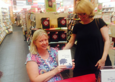 At Dymocks Chermside book signing