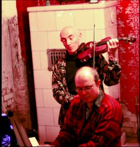 Mosh & Paul Hankinson recording Doina Berlin 2012
